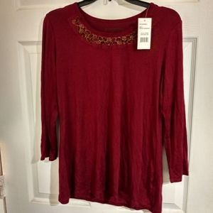 Chenault Ladies long sleeve blouse L